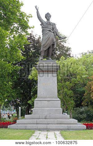 Petofi Monument Budapest