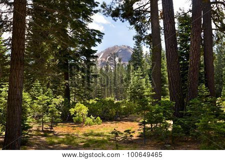 Mt Lassen Peak Lassen National Park, California