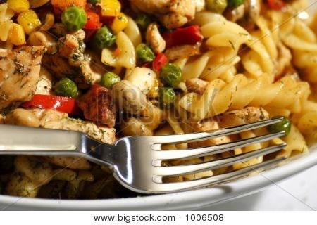 Pasta With Grilled Chicken