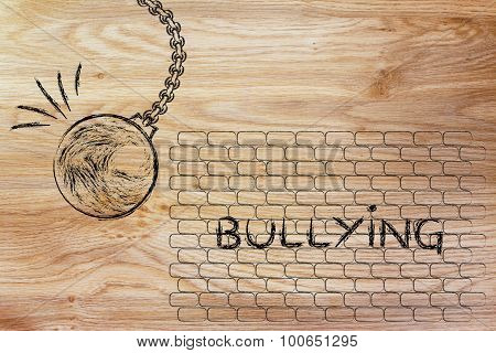 Wrecking Ball Against Bullying