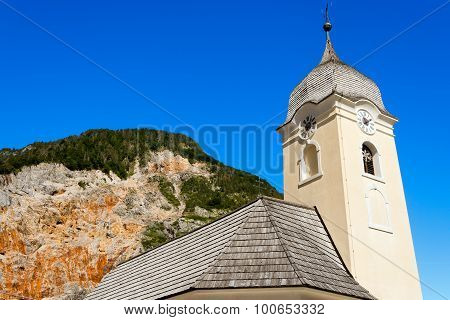 Church And Mine Of Predil - Friuli Italy