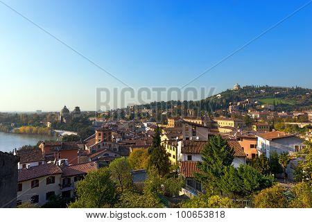 Cityscape Of Verona - Italy