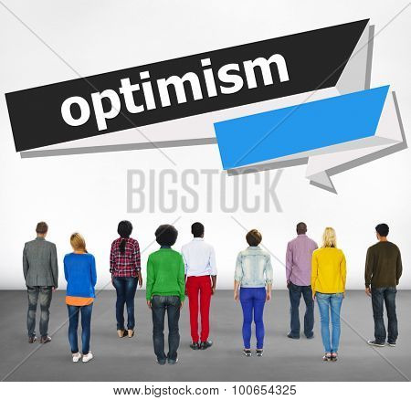 Optimism Attitude Hopeful Positive Thinking Concept