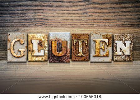 Gluten Concept Letterpress Theme