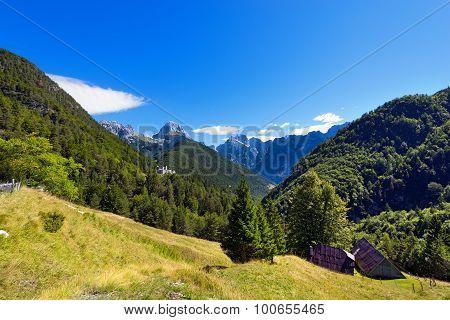 Peak Of Mangart And Jalovec - Slovenia