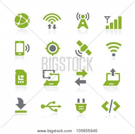 Connectivity Icons // Natura Series