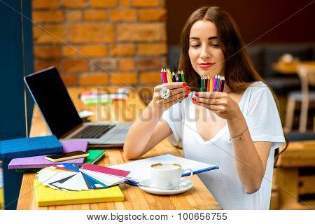Choosing pencils