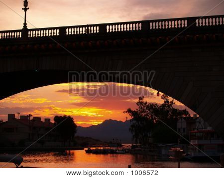 London Bridge Sunset