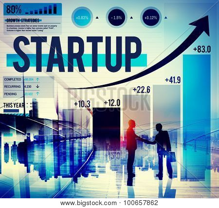 Start Up Growth Business Success Meeting Concept