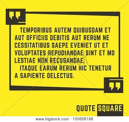 Quotesquare