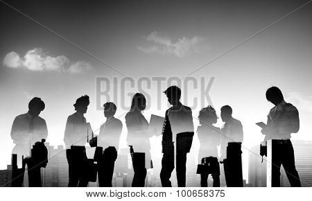 Business People Discussion Communication Meeting Concept