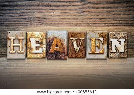 Heaven Concept Letterpress Theme