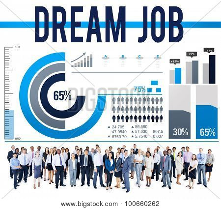 Dream Job Career Aspiration Occupation Concept