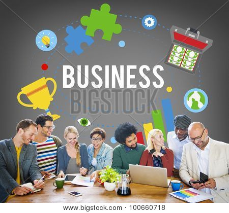 Business Company Corporate Enterprise Organization Concept