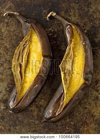 Rustic Barbecued Banana