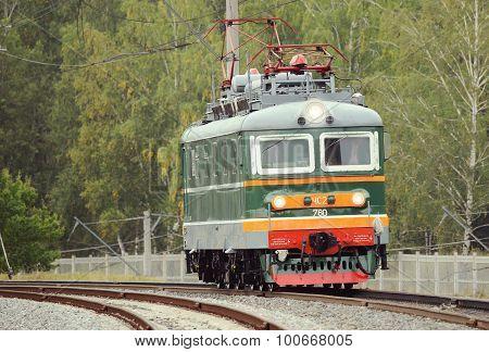 Retro passenger locomotive