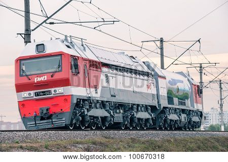 Gaz-turbo Locomotive.