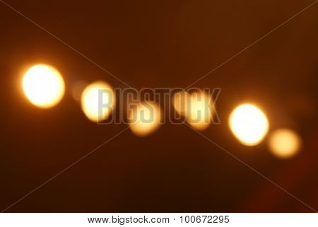 Blured Directional Spot Lights