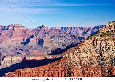 Cliffs of the Grand Canyon