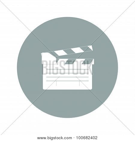 Movie Clapper Board, Movie Maker Vector
