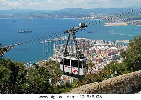 Cable Car, Gibraltar.