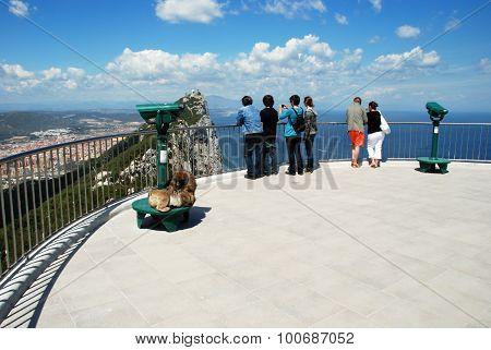 Viewing platform, Gibraltar.