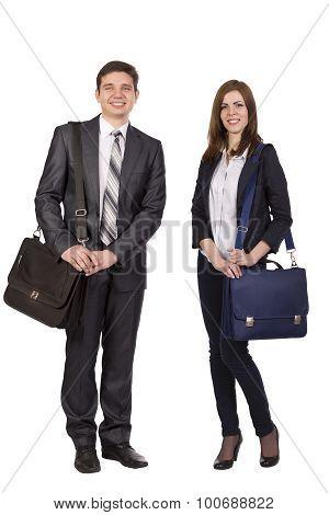 Nice young couple
