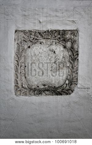 Inscription On Old Wall