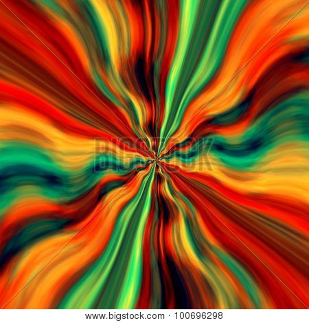 Abstract virtual background design. Time warp. Space art decor. Soft image. Storm wind force. Blast.