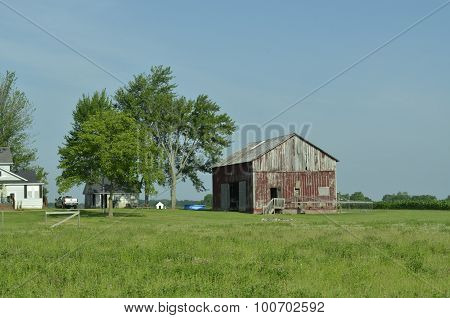 Weathered outbuilding