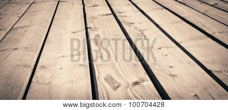 Light brown wooden texture planks, table, desk or wall surface