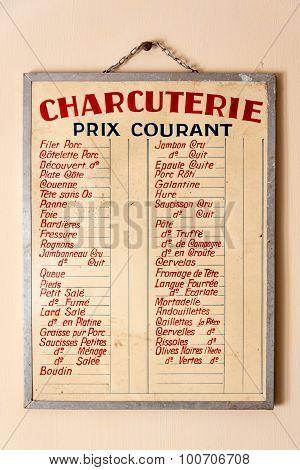 Delicatessen French Billboard Prices