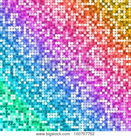 Glow Rainbow Colored Shiny Background