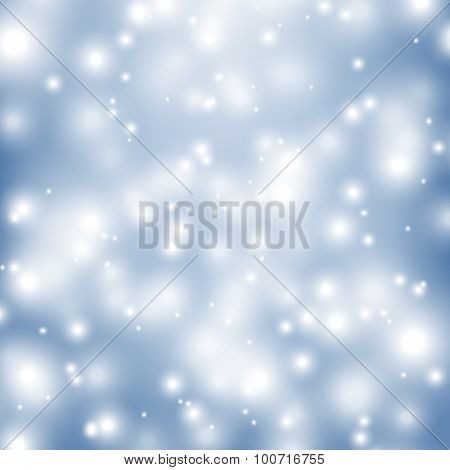 Vector Shiny Winter Backdrop