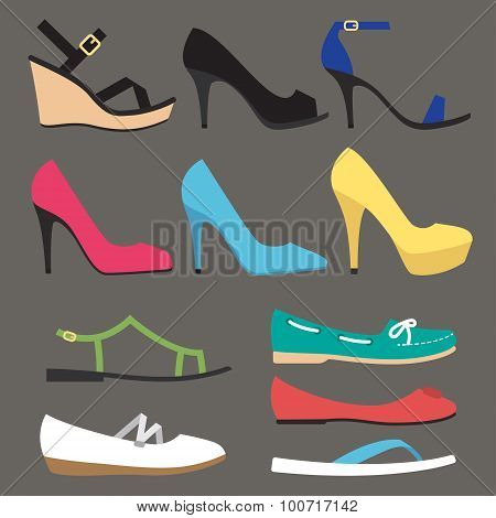 Women Shoe Types
