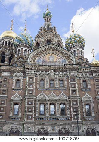 Church Of The Resurrection (savior On Spilled Blood) .1883-1907.  St. Petersburg