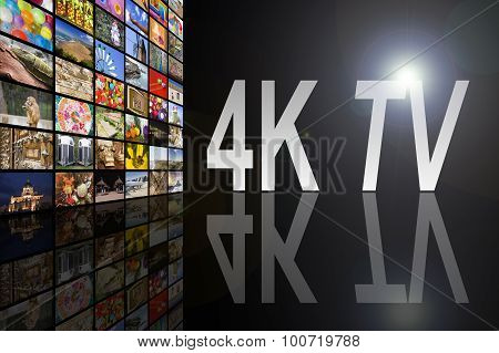 4K TV Concept