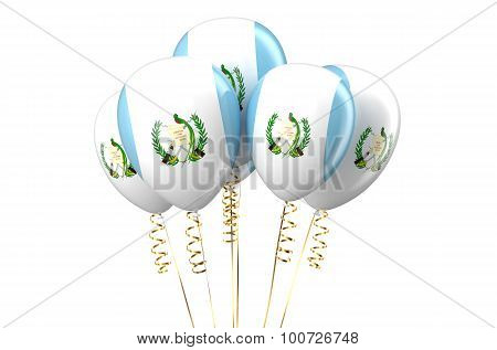 Guatemala Patriotic Balloons, Holyday Concept