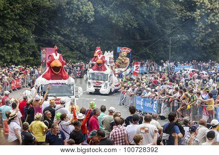 Le Gaulois Caravan - Tour De France 2015