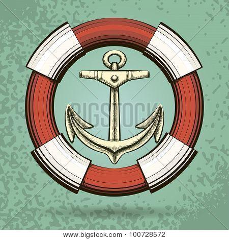 Anchor And Lifebuoy