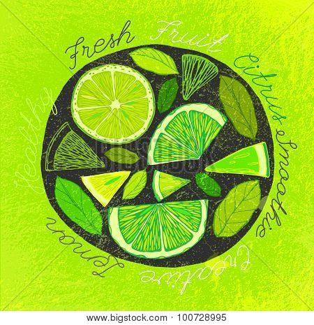 Handdrawn Lemon