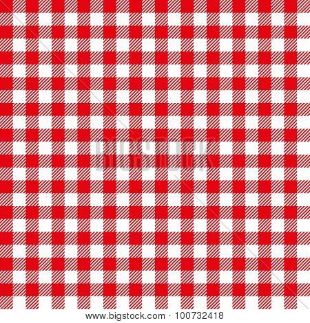 Seamless Coarse Plaid Pattern