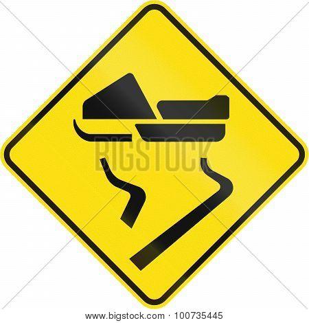 Slip Danger For Snowmobiles In Canada