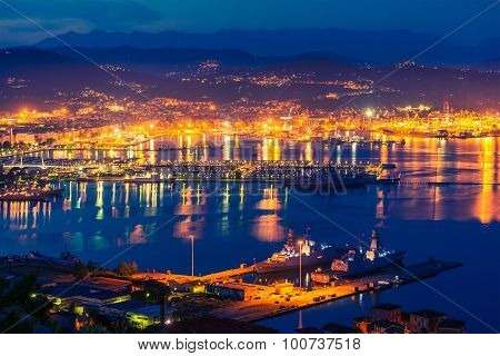 La Spezia At Night