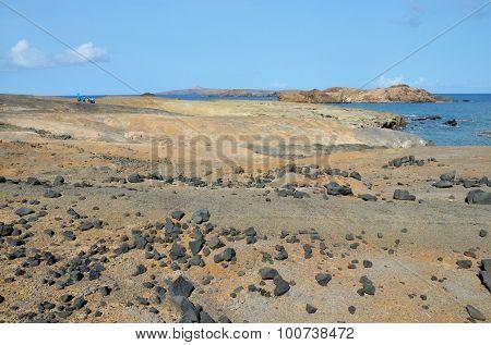 Lunar-like Landscape In Djeu