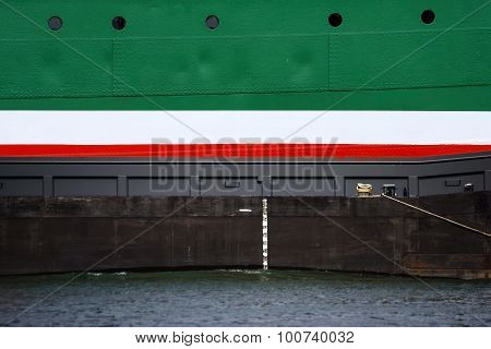 Vessel wall