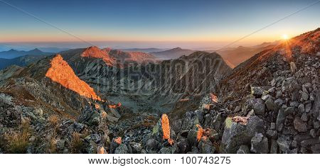 Autumn Montain Panorama - West Tatras, Slovakia