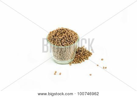 Popper Clay With Isolated White Background