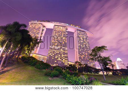 The Marina Bay Sands Resort