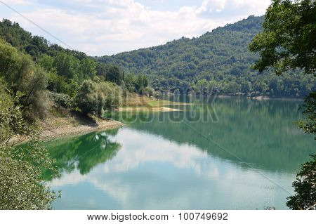 View Of The Lake Of Salto In Abruzzo, Italy 58